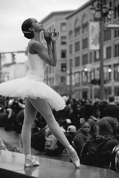 pinterest.com/fra411 #dance - New York City Ballet dancer, Aesha Ash