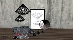 Visualização grande do modelo 3D de Diamond Decoration