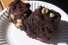 Brownies | VegWeb.com, The World's Largest Collection of Vegetarian Recipes