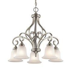 Kichler Lighting Monroe 5-Light Brushed Nickel Chandelier
