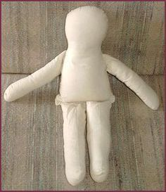 Basic rag doll pattern and instructions--some ideas for hair & face, too.  Love dolls for shoe box kids.