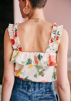 Boho Fashion, Vintage Fashion, Fashion Outfits, French Capsule Wardrobe, Fancy Tops, Couture Tops, Stylish Tops, Western Dresses, Mode Inspiration