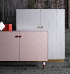 Ikea furniture upgraded with fronts, knobs and legs. By Superfront