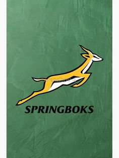 'Springboks Rugby - 2019 Springbok Rugby World Cup Champions' Canvas Print by Arend Studios World Cup Champions, Rugby World Cup, Sell Your Art, Print Design, Vibrant Colors, Funny Quotes, Canvas Prints, Cakes, Inspiration