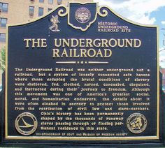The Underground Railroad                                                       …
