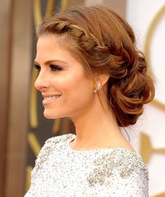 bridesmaid updos for thick hair - Google Search