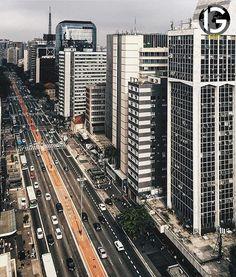 Avenida Paulista, SP Brasil
