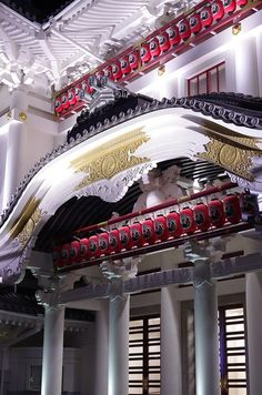 Kabuki theater in Tokyo, Japan