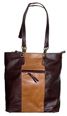 Beau & Ro Bag Company Women's The Fairfield Tote + Backpack in Tan and Dark Brown Leather Beau & Ro Bag Company   #Convertible #fashion #LynnFriedman  http://www.amazon.com/dp/B00O16GFM6/ref=cm_sw_r_pi_dp_Iz9Xub1NE0EKH