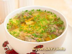 ✓ Картофельный суп с фрикадельками