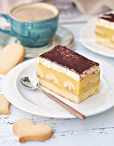 Polish Recipes, Polish Food, Food Cakes, Tiramisu, Mousse, Cake Recipes, Sweets, Cooking, Ethnic Recipes