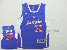 http://www.yjersey.com/nba-clippers-32-griffin-blue-new-revolution-30-jersey.html #NBA #CLIPPERS 32 GRIFFIN BLUE NEW REVOLUTION 30 JERSEYOnly$37.00  Free Shipping!