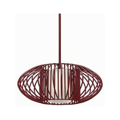 Fredrick Ramond FR32557 1 Light Full Sized Pendant from the Vibe ($469) ❤ liked on Polyvore featuring home, lighting, ceiling lights, crimson, indoor lighting, pendants, fluorescent ceiling lights, fredrick ramond, fluorescent light and fluorescent lamp
