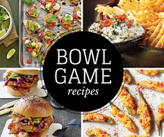 Score a touchdown at your next bowl game watching party with these tasty handheld bites and creamy dips.