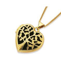 9ct Gold Tree Of Life Locket