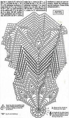 Kira scheme crochet: Scheme crochet no. Filet Crochet, Crochet Art, Crochet Round, Crochet Home, Thread Crochet, Free Crochet Doily Patterns, Crochet Doily Diagram, Crochet Squares, Crochet Motif