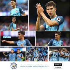 John Stones debut collection from City's opening day win against Sunderland… John Stones, England Football, City Boy, Pep Guardiola, Sunderland, Latest Pics, Manchester City, Blues, Sport