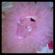 Pastel pink tutu and tye dye pink crop top Pastel pink tutu, worn once, one size fits most adults. Adorable to wear to a rave. I will also include a size small tye dye pink crop top. leg Avenue  Other