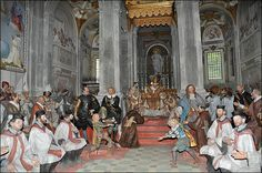 La chapelle n°20 du Mont Sacré d'Orta