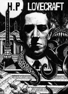 Magnetic Eye -- 15 ilustraciones exquisitas sobre H.P Lovecraft | OLDSKULL.NET