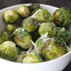 Parmesan Baked Brussel Sprouts by demib09