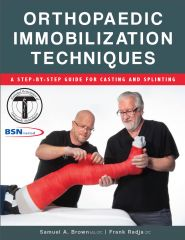 New Book Available: Orthopaedic Immobilization Techniques: A Step-by-Step Guide for Casting and Splinting is a step-by-step written and visual guide for the proper application and removal of the most commonly used orthopaedic casts and splints.