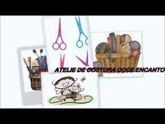Assista também ao vídeo de como fazer o saquinho organizador para complementar essa bolsa.