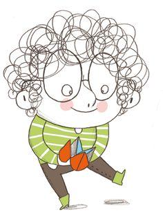 Christine Roussey Art For Kids, Animated Cartoons, Art Design, Illustrations Kids, Character Design, Grafic Art, Art Corner, People Illustration, Drawing For Kids