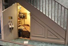 8 Eloquent Tips AND Tricks: Bedroom Remodel Projects bedroom remodel on a budget pictures.Bedroom Remodel Cheap Home Decor bedroom remodeling pictures.Bedroom Remodel Cheap Home Decor. Room Under Stairs, Basement Stairs, Cupboard Under The Stairs, Under Stairs Playhouse, Basement Remodeling, Bedroom Remodeling, My Dream Home, Home Projects, Future House