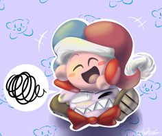Marx is having none of Kirby's shit today Art is mine, Kirby belongs to HAL Labs get off of me u lil shit Kirby Games, Kirby Character, Meta Knight, Rare Species, Got Off, Super Smash Bros, Funny Comics, Something To Do, Nerdy