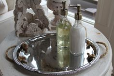 Wedding TrayServing Tray French Tray  Shabby Chic by miekekanis, $30.00