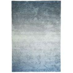 Vloerkleed Holger blauw/groen 160x230 cm
