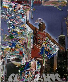 "Juxtapoz Magazine - Devin Troy Strother ""Space Jam"" @ Marlborough Chelsea, NYC"