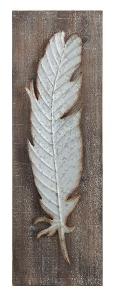 Smudge Feather Wall Décor