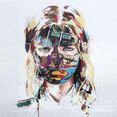 Les sublimes peintures de Sandra Chevrier !