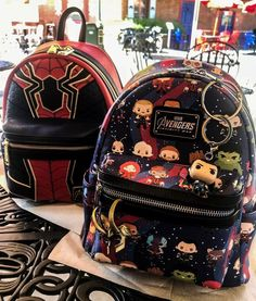 Hairstyles For Girls Videos Tomboy Marvel Avengers, Marvel Backpack, Spiderman Backpack, Marvel Clothes, Avengers Clothes, Marvel Shoes, Avengers Outfits, Marvel Fashion, Geek Fashion