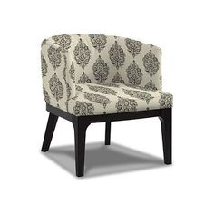 oliver chair - perfect small size for our tiny living room space... but not sure what color or print would look good with a fog/gray couch...