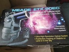 ﹩484.22. Meade ETX-90 RC Astronomical  Telescope8  Type - Catadioptric