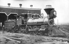 northern+pacific+railroad+maps | San Francisco and North Pacific #18, 4-6-0, built by Rogers in 1889 ...
