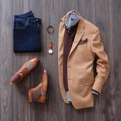 Mens Fashion Edgy – The World of Mens Fashion Mode Masculine, Men Fashion Show, Mens Fashion, Fashion Vest, Elegantes Business Outfit, Look Man, Casual Wear For Men, Casual Outfits, Fashion Outfits