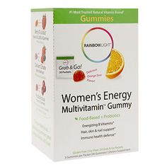 Buy Rainbow Light Women's Energy Multivitamin Gummy, Orange Zest with free shipping on orders over $35, low prices & product reviews | drugstore.com