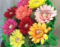 Edible Bouquets, Fall Bouquets, Fall Wedding Bouquets, Paper Bouquet, Diy Bouquet, Candy Bouquet, Flower Crafts, Diy Flowers, Flower Decorations