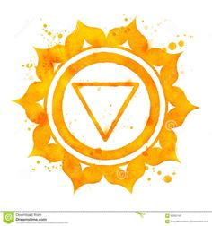 Chakra symbols solar plexus design uth5061 from for Solar plexus tattoo