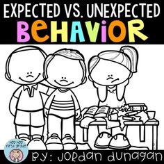 Do you need a classroom management lesson? This is a great tool to help facilitate behavior within your classroom and school.What's included:Definition and DirectionsClassroom ChartExpected vs. Unexpected Behavior sortExpected vs. Unexpected Behavior scenariosExpected vs.