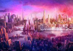 Raspberry sky by ~yitfong on deviantART