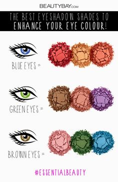 [ Make-up tips ] What eyeshadow colors suits your eyes