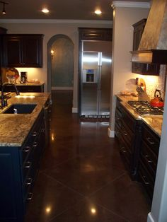 Cabinets and floor ideas