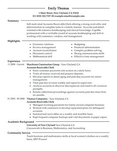 resume examples accounts payable - Skills Based Resume Example