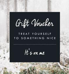 Gift Voucher … More