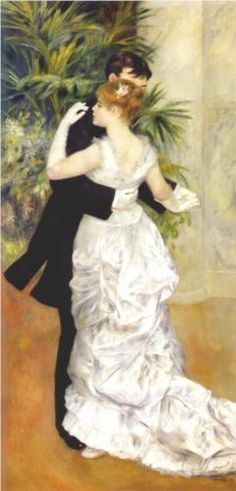 Dance in the City - Pierre-Auguste Renoir